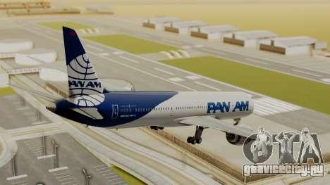 Boeing 787-9 Pan AM для GTA San Andreas вид слева