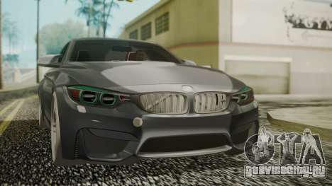 BMW M4 Coupe 2015 Carbon для GTA San Andreas