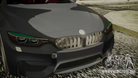 BMW M4 Coupe 2015 Carbon для GTA San Andreas вид справа