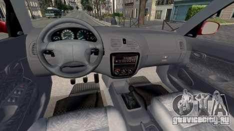 Daewoo Nubira I Hatchback CDX 1997 для GTA 4 вид сзади