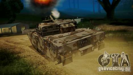 GTA 5 Rhino Tank для GTA San Andreas вид слева