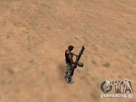 M249 для GTA San Andreas второй скриншот