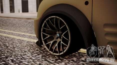 Ford Connect для GTA San Andreas вид сзади слева