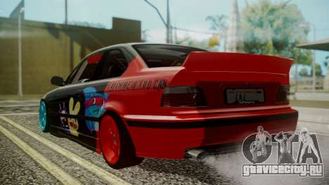 BMW M3 E36 Happy Drift Friends для GTA San Andreas вид слева