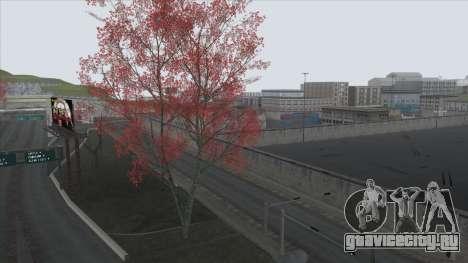 Autumn in SA v2 для GTA San Andreas пятый скриншот