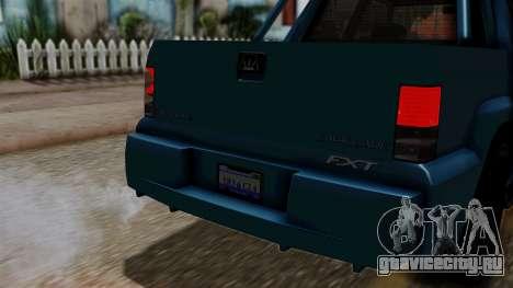 Syndicate Criminal (Cavalcade FXT) from SR3 для GTA San Andreas вид справа
