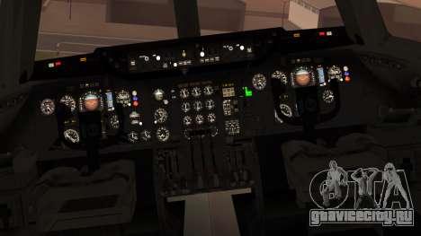 DC-10-10 National Airlines для GTA San Andreas вид сзади