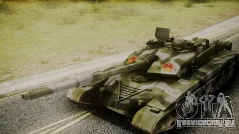 Type 99 from Mercenaries 2 для GTA San Andreas вид справа