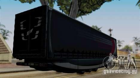 Aero Dynamic Trailer Stock для GTA San Andreas вид слева