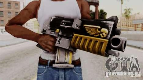 Болтер из Warhammer 40k для GTA San Andreas третий скриншот