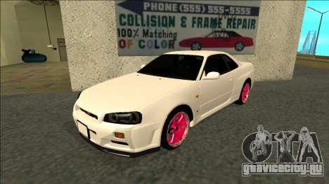 Nissan Skyline R34 Drift JDM для GTA San Andreas