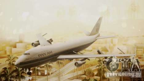 Boeing 747-100 Pan Am Clipper Maid of the Seas для GTA San Andreas