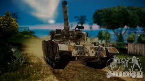 GTA 5 Rhino Tank для GTA San Andreas вид справа