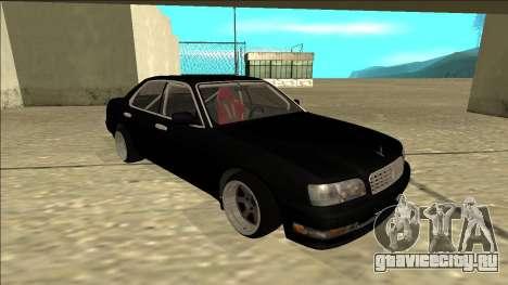 Nissan Cedric Drift для GTA San Andreas вид слева