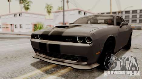 Dodge Challenger SRT Hellcat 2015 IVF для GTA San Andreas