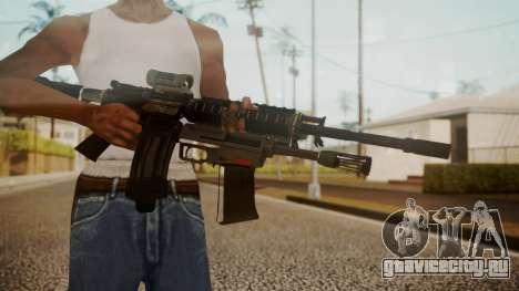 M4 with M26 Mass для GTA San Andreas третий скриншот
