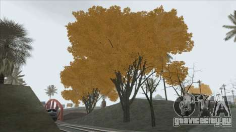 Autumn in SA v2 для GTA San Andreas второй скриншот