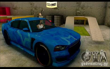 Bravado Buffalo Blue Star для GTA San Andreas