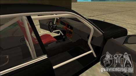 Nissan Cedric Drift для GTA San Andreas вид сзади слева