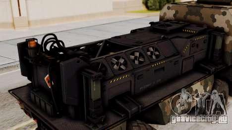 Tempest (устройство) для GTA San Andreas вид сзади