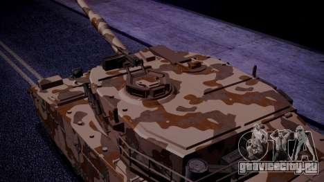GTA 5 Rhino Tank IVF для GTA San Andreas вид сзади слева