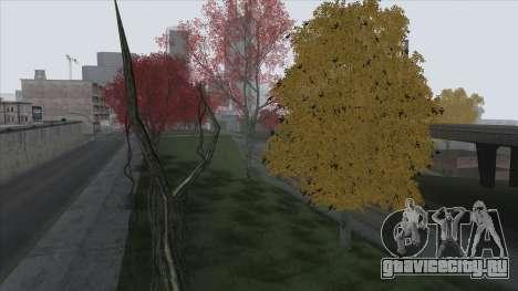 Autumn in SA v2 для GTA San Andreas шестой скриншот