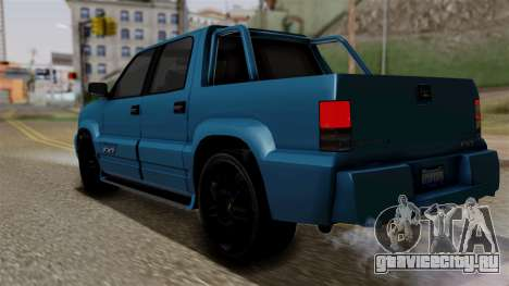 Syndicate Criminal (Cavalcade FXT) from SR3 для GTA San Andreas вид слева
