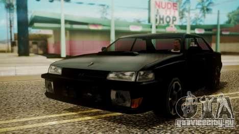 Sultan Hell Cat для GTA San Andreas вид сзади слева