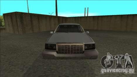 Stretch Sedan для GTA San Andreas вид справа