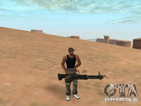 M249 для GTA San Andreas