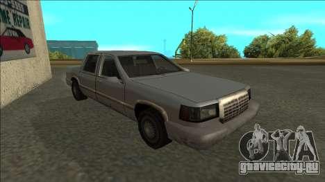 Stretch Sedan для GTA San Andreas вид слева