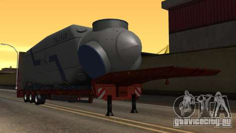 Overweight Trailer Stock для GTA San Andreas