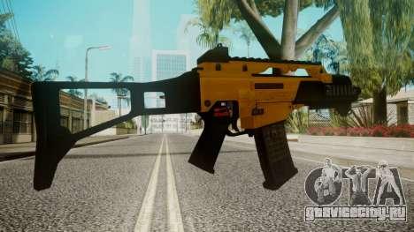 G36C Gold для GTA San Andreas третий скриншот