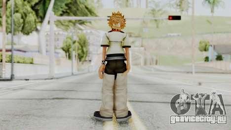 Kingdom Hearts 2 - Roxas Default для GTA San Andreas третий скриншот