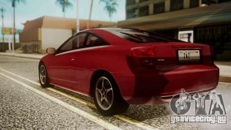 Toyota Celica SS2 Tunable для GTA San Andreas вид слева