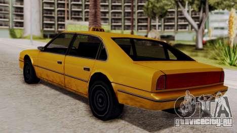 Taxi Emperor v1.0 для GTA San Andreas вид слева