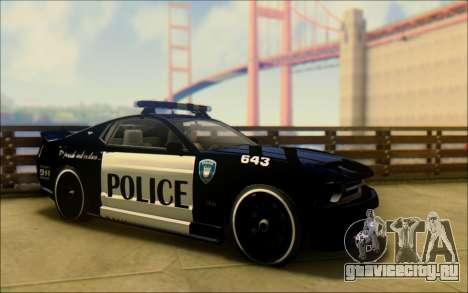 Бессодержательный Доминатор Трансформаторы Полиц для GTA San Andreas вид справа