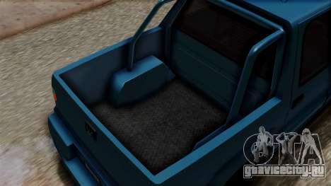 Syndicate Criminal (Cavalcade FXT) from SR3 для GTA San Andreas вид сзади