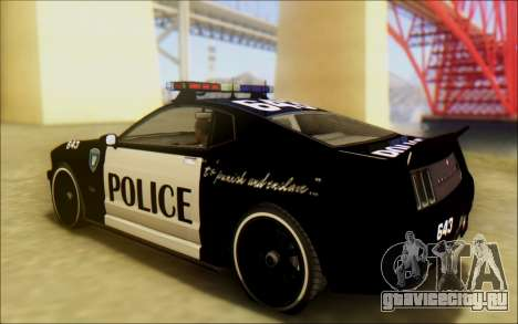 Бессодержательный Доминатор Трансформаторы Полиц для GTA San Andreas вид слева