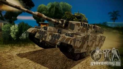 GTA 5 Rhino Tank для GTA San Andreas