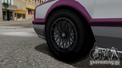 GTA 5 Albany Primo IVF для GTA San Andreas вид сзади слева
