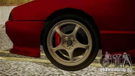 Elegy NR32 with Neon для GTA San Andreas вид сзади слева