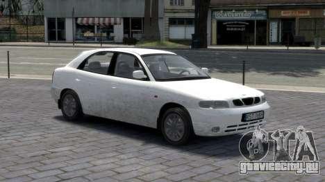 Daewoo Nubira I Hatchback CDX 1997 для GTA 4 салон