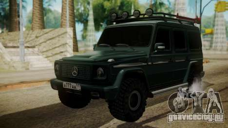 Mercedes-Benz G500 Off-Road для GTA San Andreas