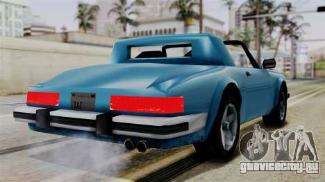 Comet from Vice City Stories для GTA San Andreas вид слева