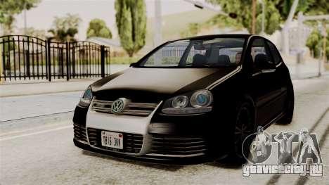 Volkswagen Golf R32 NFSMW05 Sonny PJ для GTA San Andreas