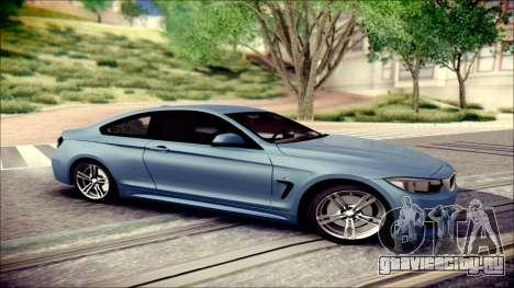BMW 4 Series Coupe M Sport для GTA San Andreas вид слева