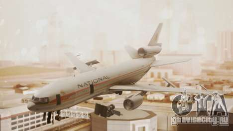 DC-10-10 National Airlines для GTA San Andreas