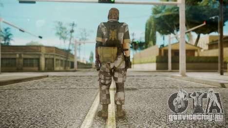 Venom Snake Square для GTA San Andreas третий скриншот