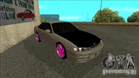 Nissan 200sx Drift JDM для GTA San Andreas вид слева